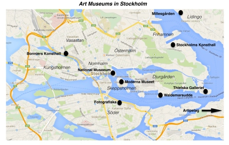 Art museums in Stockholm