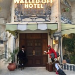 The Walled Off Hotel - Entrance