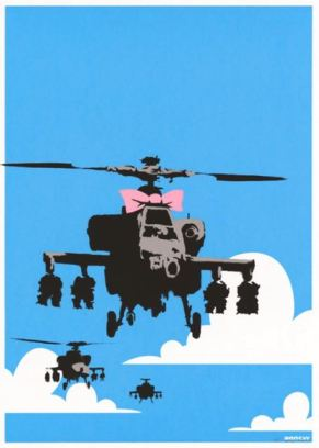 Happy Choppers, screen print, signed, 150, 2003